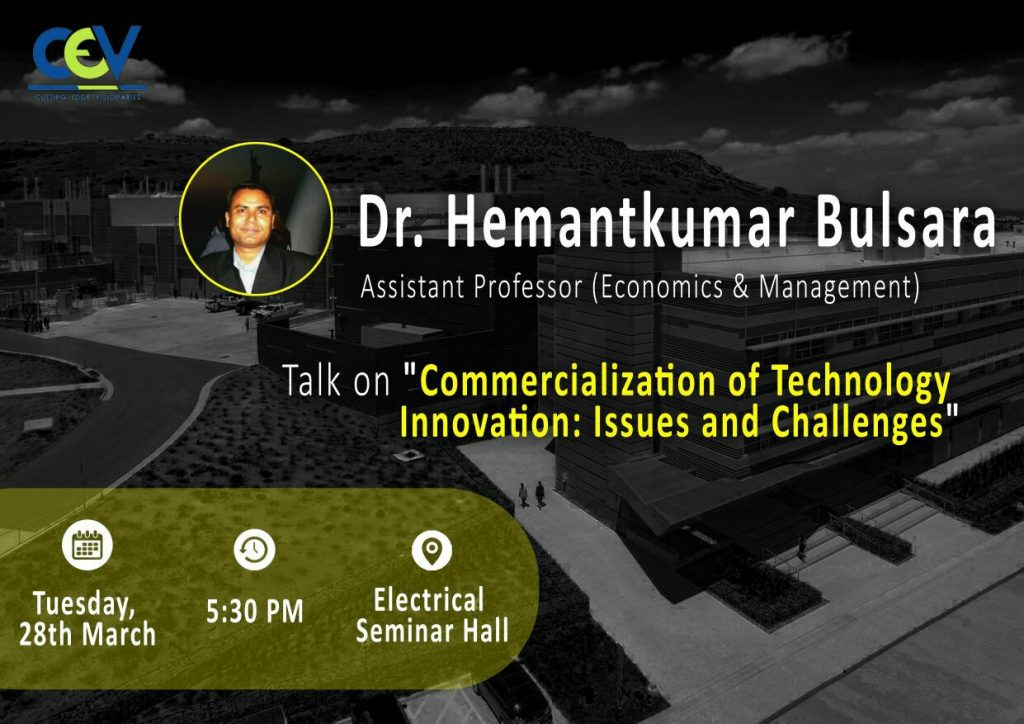 Commercialization of Technology Innovation: Issues and Challenges
