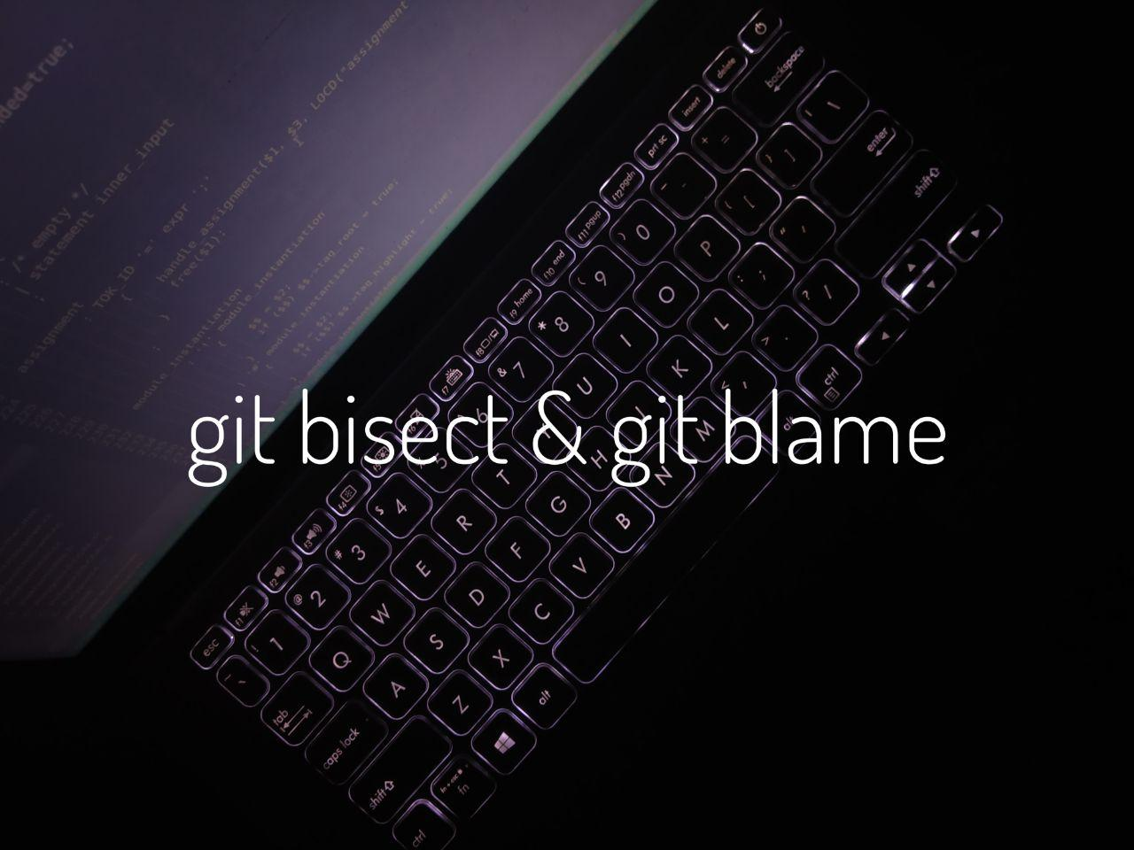 Getting Familiar with Some Cool Git Commands- git bisect & gitblame