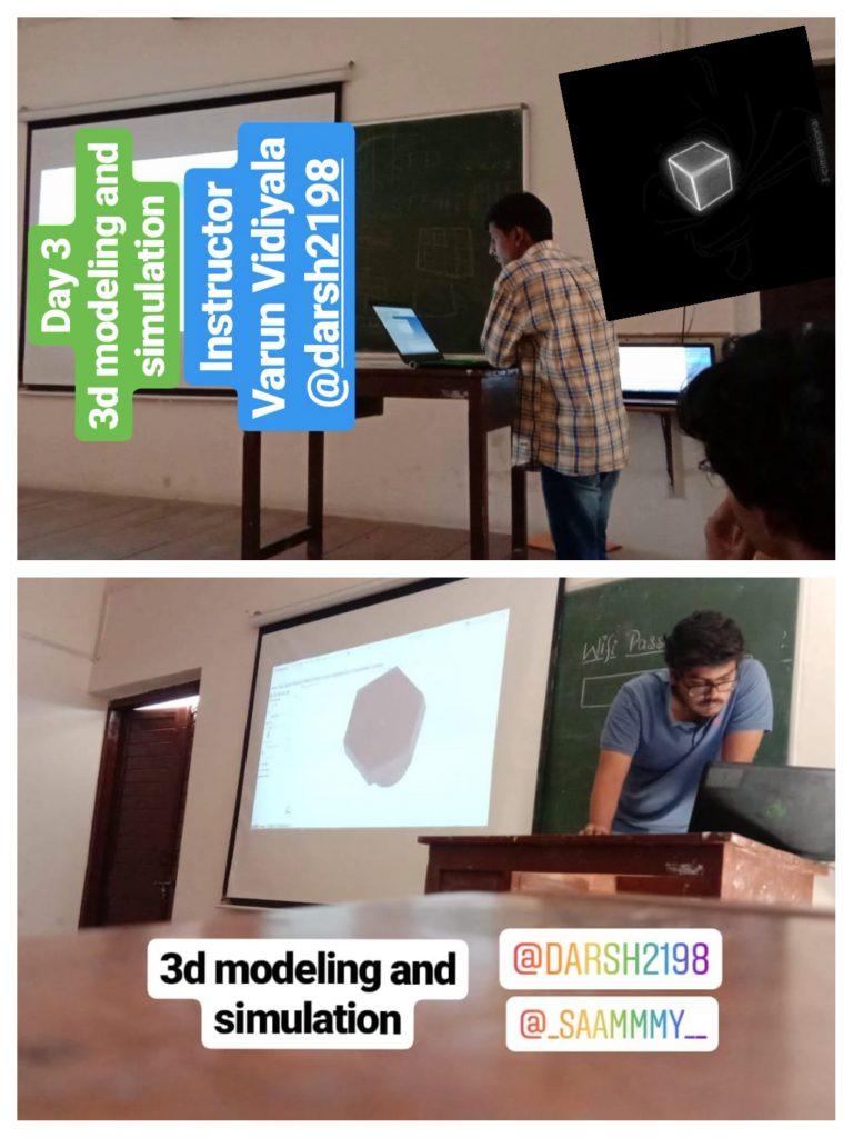 3D Modelling & Simulation